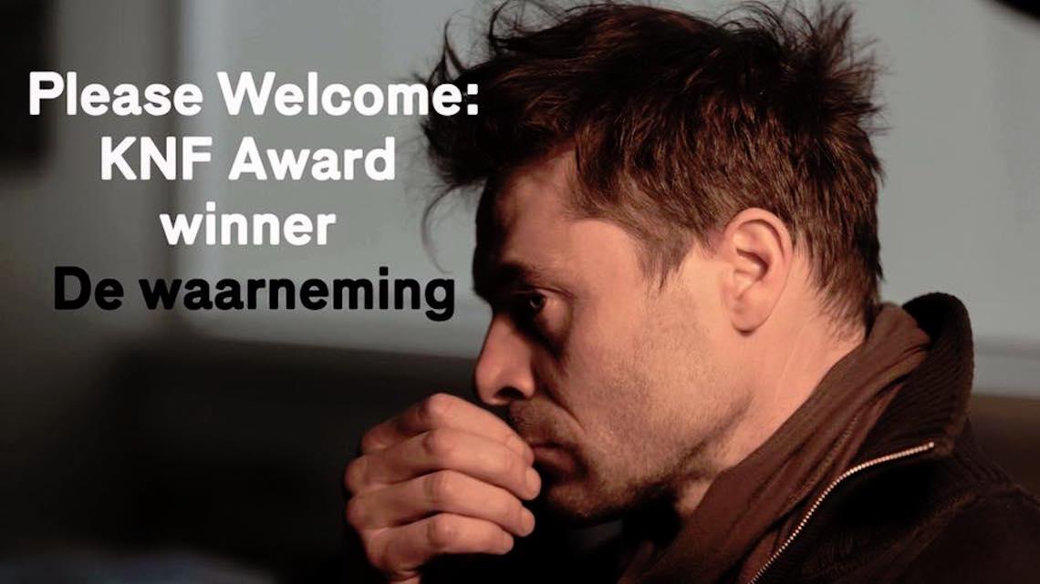 KNF Award op IFFR naar Frank Scheffers De Waarneming