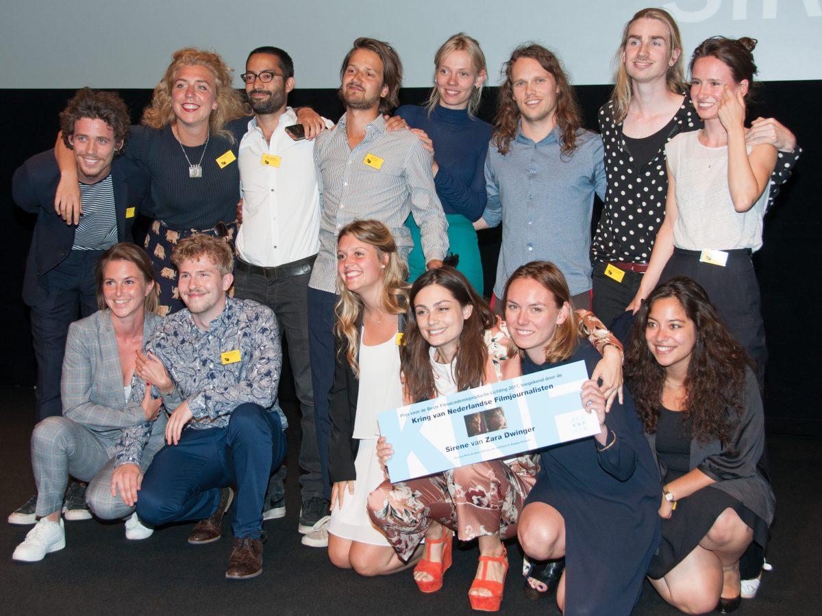 KNF prijs voor beste Filmacademie productie naar 'Sirene'