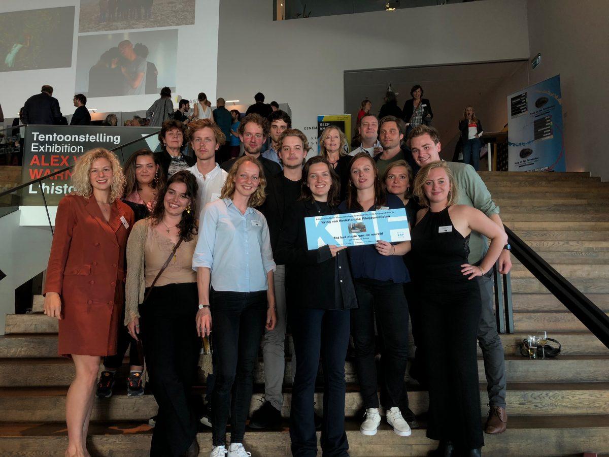 'Tot het einde van de wereld' winnaar KNF prijs beste Filmacademie afstudeerfilm