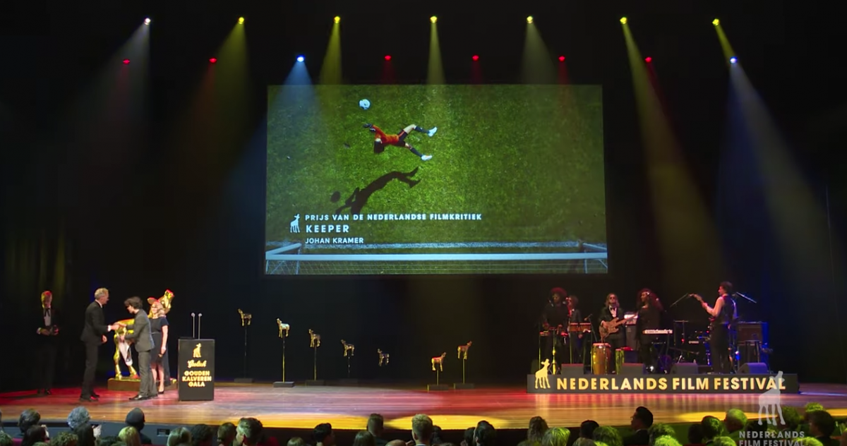 Johan Kramers 'Keeper' winnaar KNF Award Nederlands Filmfestival